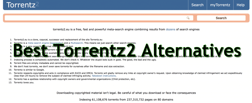 Best Torrentz2 Alternatives and Torrentz2.eu: List of Proxy & Mirror Sites